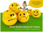 Social Studies Research Project: