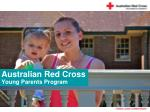 Australian Red Cross Young Parents Program