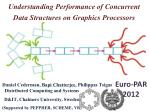Understanding Performance of Concurrent Data Structures on Graphics Processors