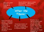 'After the Titanic'