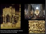 Nicola Pisano, Pulpit, Siena Cathedral, 1265-68, Journey and Adoration of the Magi