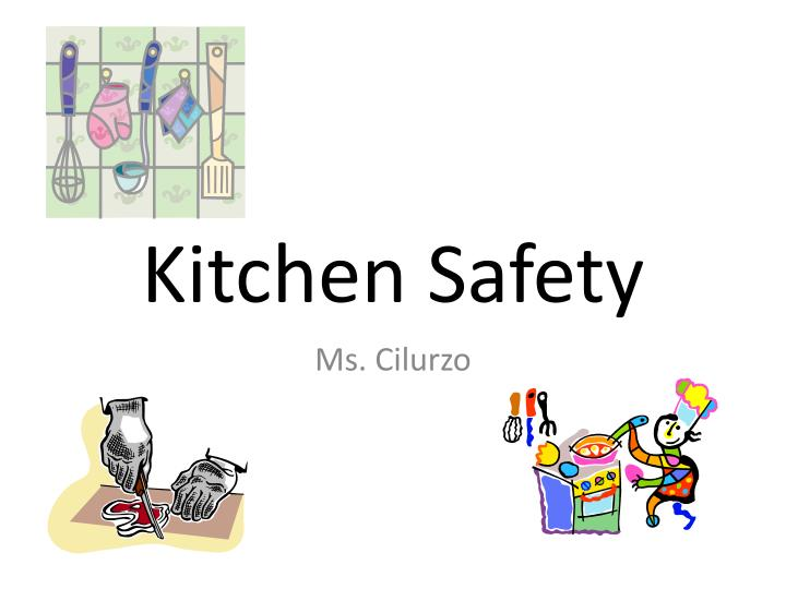 kitchen safety n.