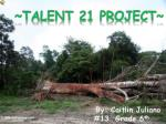 ~Talent 21 project~