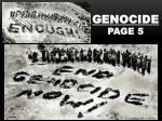 Genocide Page 5