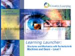 Structures and Mechanics with fischertechnik Machines and Gears  – Level 1