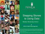 Stepping Stones to Using Data