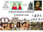 A Brief History of British Common Law