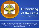 Discovering of the Cross
