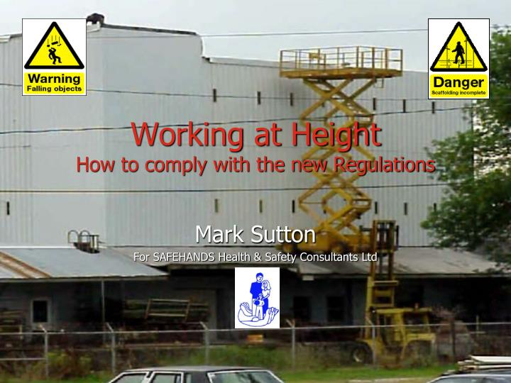 working at height how to comply with the new regulations n.