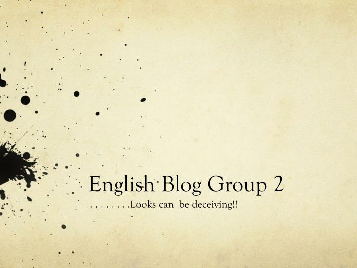 english blog group 2 n.