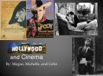 Hollywood and Cinema