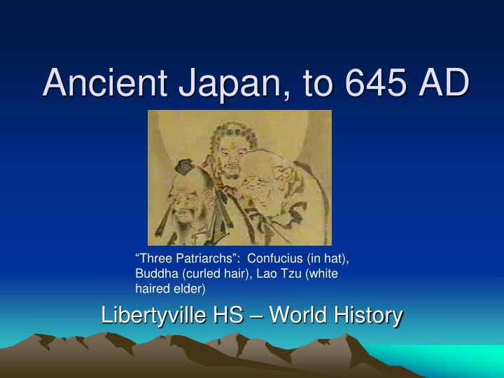 ancient japan to 645 ad n.