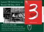 Latent TB Infection on World TB Day 2014