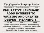 The Figurative Language Review