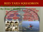 red tails squadron