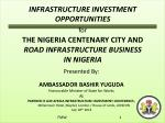 INFRASTRUCTURE INVESTMENT OPPORTUNITIES