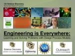 Engineering is Everywhere: Learning and Solving Problems with Design Process Models
