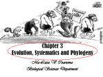 Chapter 3 Evolution, Systematics and Phylogeny