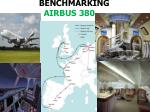 BENCHMARKING         AIRBUS 380