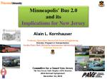 Minneapolis' Bus 2.0 and its Implications for New Jersey