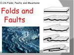 11.2A Folds, Faults, and Mountains