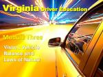 Virginia Driver Education