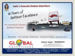 Innovative Outdoor Advertising agency - Global Advertisers