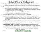 Richard  Young Background