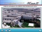 JORDAN UNIVERSITY OF SCIENCE AND TECHNOLOGY (JUST)