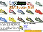 Cheap Soccer Shoes by USA Soccer Mall