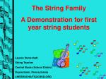 Lauren  Herrschaft String Teacher Central Bucks School District Doylestown, Pennsylvania
