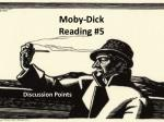 Moby-Dick Reading #5