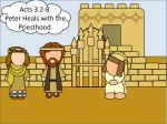 Acts 3:2-8 Peter Heals with the Priesthood
