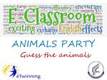 ANIMALS PARTY