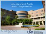 University of North Florida Brooks College of Health