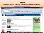 CASMII was founded by Abbas Edalat in England in 2005 and its US branch in 2006