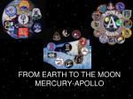 FROM EARTH TO THE MOON MERCURY-APOLLO