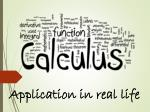 Application in real life