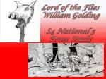 Lord of the Flies William Golding S4 National 5 Prose Study