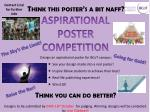 ASPIRATIONAL POSTER COMPETITION