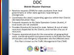 DDC District Disaster Chairman