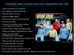 Everything I Need To Know About Life I Learned From Star Trek