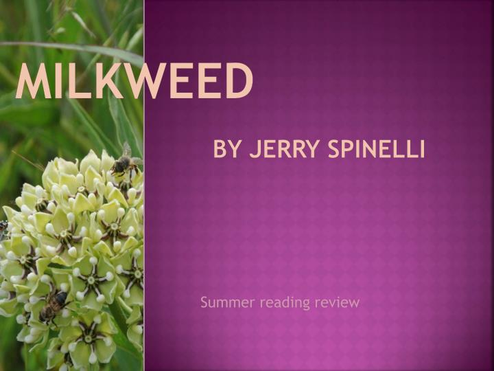 milkweed by jerry spinelli n.