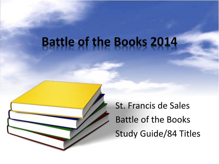 battle of the books 2014 n.