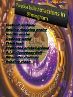 Purpose built attractions in Birmingham