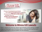 Mirena Lawsuit Settlement