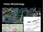 Urban Morphology