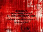 Lockdown:  Escape from Furnace by: alexander gordon smith