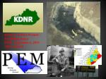 Division of Mine Permits - Permitting Issues PEM –September 6, 2013 Allen Luttrell