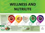 WELLNESS AND NUTRILITE